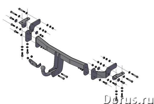 Фаркоп на Kia Sorento, с 2012 г.в - Запчасти и аксессуары - Фаркоп (тягово-сцепное устройство) на Ki..., фото 1